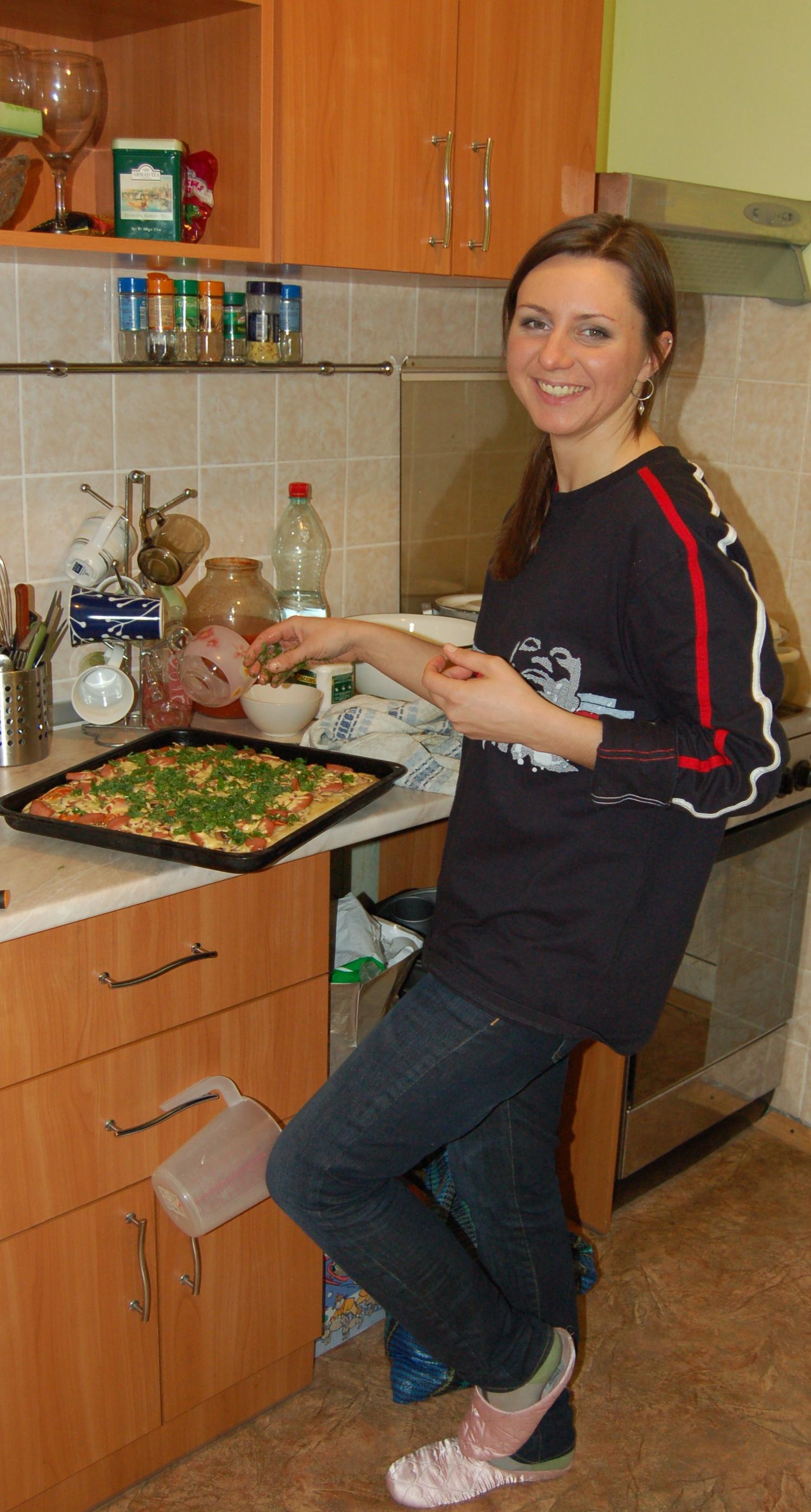 Пица домашняя «Традиционная»