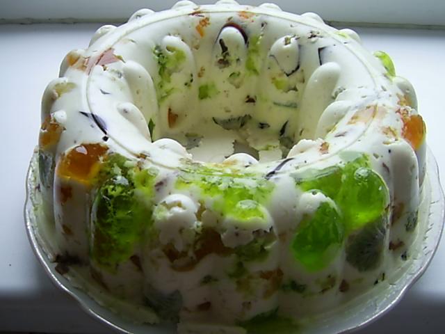 """Желейный торт """" Битое стекло"""""""