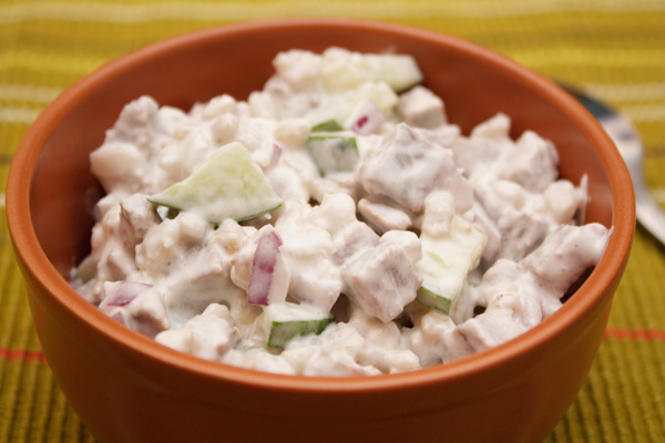 салат из перловки рецепт