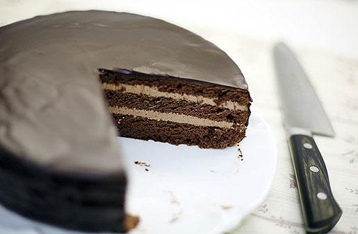 Торт-пирожное «Прага»
