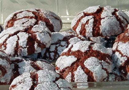 Шоколадное печенье с кардамоном