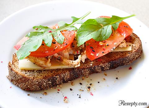 Бутерброд с рукколой