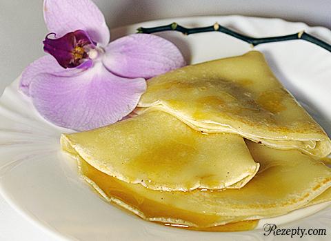 Багрир — марроканские блинчики под медовым соусом