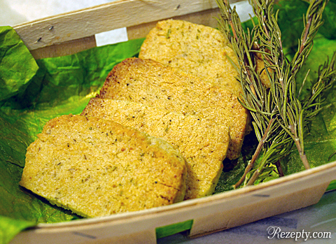 Орехово-розмариновое печенье